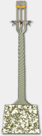 Yılanlı Sütun (Serpentine Column) [Rekonstrüksiyon, 2007]